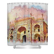 Jehangir Form Shower Curtain by Catf