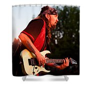 Jimmy Dence - The Fabulous Kingpins Shower Curtain by David Patterson