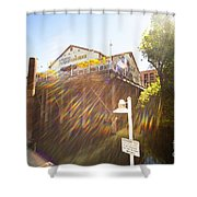 Joes Shower Curtain by Cheryl Young