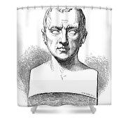 Johann Kaspar Spurzheim Shower Curtain by Granger