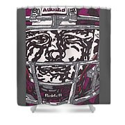 Johnny Manziel 16 Shower Curtain by Jeremiah Colley