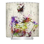 Jon Jones Shower Curtain by Aged Pixel