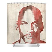 Jordan Shower Curtain by Paulette B Wright