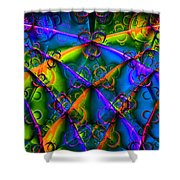 Journey 20130511v1 Long Shower Curtain by Wingsdomain Art and Photography