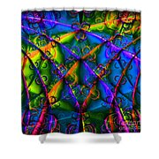 Journey 20130511v1 Square Shower Curtain by Wingsdomain Art and Photography
