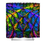 Journey 20130511v1 Shower Curtain by Wingsdomain Art and Photography