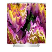 Jowey Gipsy Abstract Shower Curtain by J McCombie
