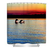 Joy Of The Dance Shower Curtain by Karen Wiles
