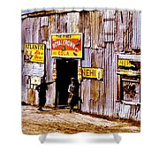 Juke Joint Shower Curtain by Benjamin Yeager