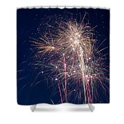 July 4th 2014 28 Shower Curtain by Chad Rowe