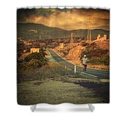 Just a dream Shower Curtain by Taylan Soyturk
