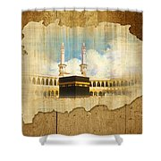 Kabah Shower Curtain by Catf