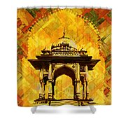 Kamran's Baradari Shower Curtain by Catf