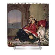 Kandahar Lady Of Rank Shower Curtain by James Rattray