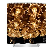 Keep Shining Shower Curtain by Rory Sagner