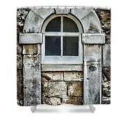 Keystone Window Shower Curtain by Heather Applegate