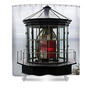 Kilauea Lighthouse Shower Curtain by Peter French