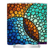 Kindred Spirits Shower Curtain by Sharon Cummings
