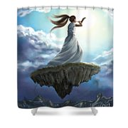 Kingdom Call Shower Curtain by Tamer and Cindy Elsharouni