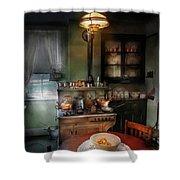 Kitchen - 1908 Kitchen Shower Curtain by Mike Savad