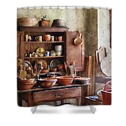 Kitchen - For The Master Chef  Shower Curtain by Mike Savad