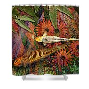 Kona Kurry Shower Curtain by Christopher Beikmann