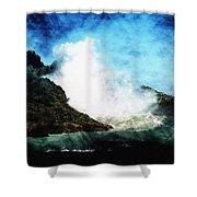 Kona Sea Shower Curtain by Athala Carole Bruckner