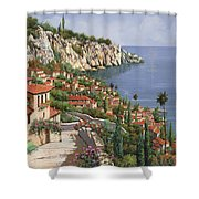 La Costa Shower Curtain by Guido Borelli