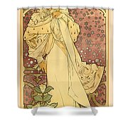La Dame Shower Curtain by Gary Grayson