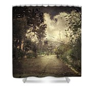 La Pluie 4.45 Shower Curtain by Taylan Soyturk