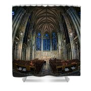 Lady Chapel At St Patrick's Catheral Shower Curtain by Jerry Fornarotto
