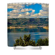 Lake Roosevelt Shower Curtain by Robert Bales