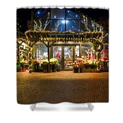 Lambert's At Faneuil Hall Shower Curtain by Joann Vitali