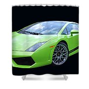 Lambourghini Salamone Shower Curtain by Allen Beatty