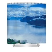 Landscape Shower Curtain by Anonymous
