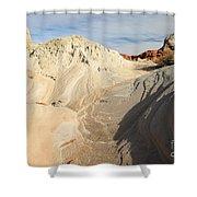 Landscape Swirls Shower Curtain by Adam Jewell