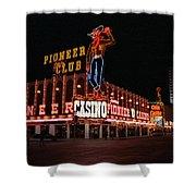 Las Vegas 1983 Shower Curtain by Frank Romeo