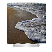 Last Day In Paradise Shower Curtain by Edward Fielding