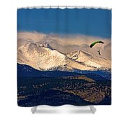 Leap Of Faith Shower Curtain by James BO  Insogna