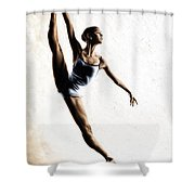 Leap Of Faith Shower Curtain by Richard Young