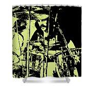 Led Zeppelin No.05 Shower Curtain by Caio Caldas