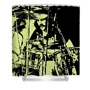 Led Zeppelin No.05 Shower Curtain by Caio Caldas