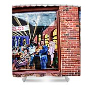 Legends Bar In Downtown Nashville Shower Curtain by Dan Sproul