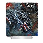 Let Freedom Run Majestic Series #71 Shower Curtain by AmyLyn Bihrle