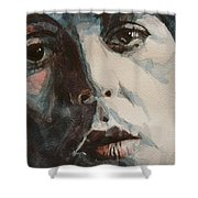 Let Me Roll It Shower Curtain by Paul Lovering