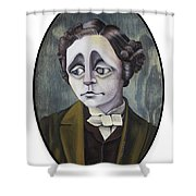 Lewis Shower Curtain by Kelly Jade King