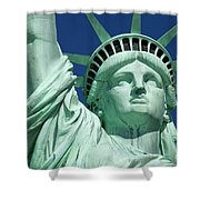 Liberty Shower Curtain by Brian Jannsen