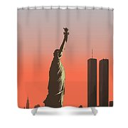 Liberty Shower Curtain by Mike Linman