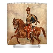Lieutenant Colonel James Thomas Brudenell  Shower Curtain by Alfred de Prades