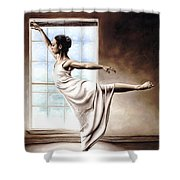Light Elegance Shower Curtain by Richard Young